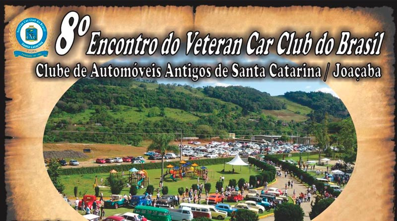 8º Encontro de Carros Antigos do Veteran do Brasil