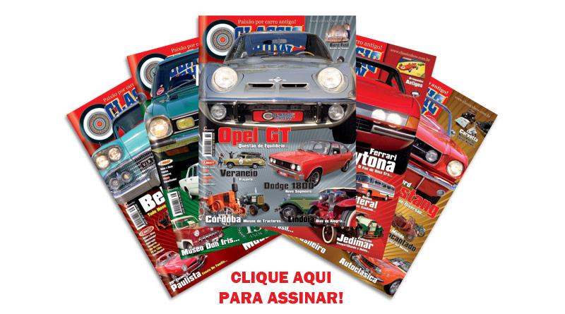Assinatura revista de carros antigos