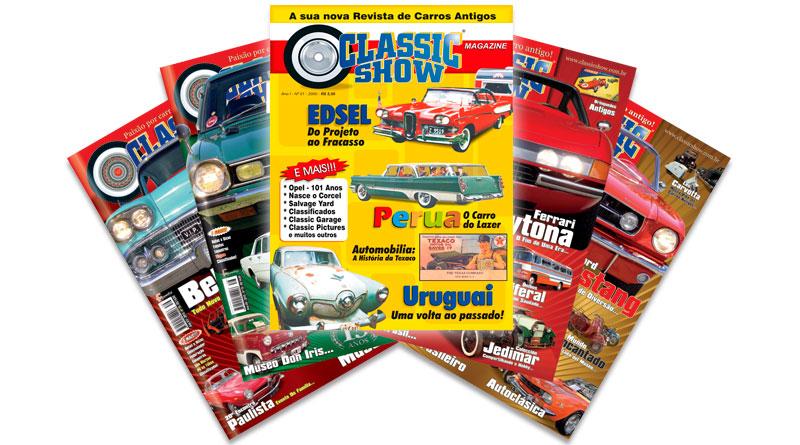 Revista Classic Show, a sua revista de carros antigos