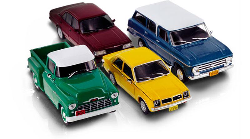 A Chevrolet lança miniaturas colecionáveis