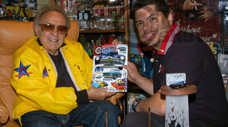 George Barris, o pai do Batmóvel, morre aos 89 anos