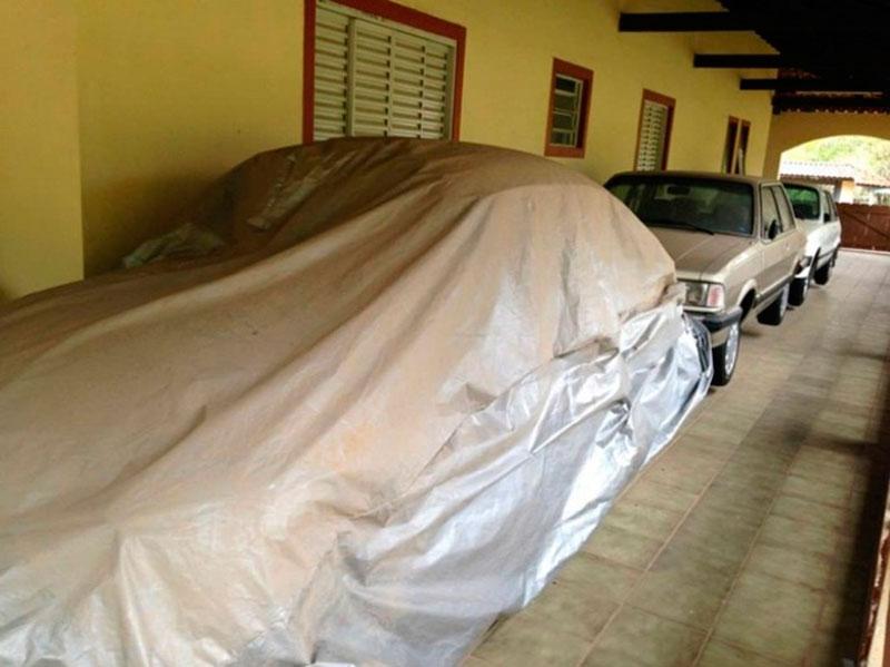 Caçador de relíquias encontra carros antigos em chácara