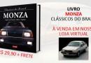 Livro Clássicos do Brasil série Monza