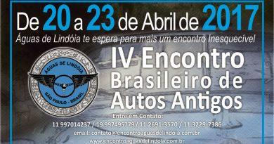 IV Encontro Brasileiro de Autos Antigos de Águas de Lindóia/SP
