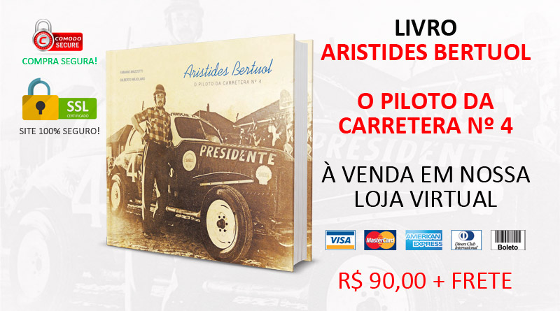 Livro: Aristides Bertuol - O piloto da carretera nº 4