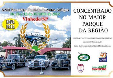 XXII Encontro Paulista de Autos Antigos em Vinhedo/SP