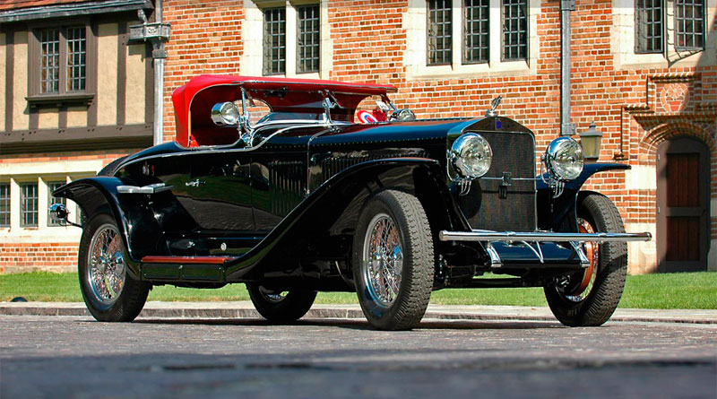 História: Isotta-Fraschini Tipo 8A S Roadster