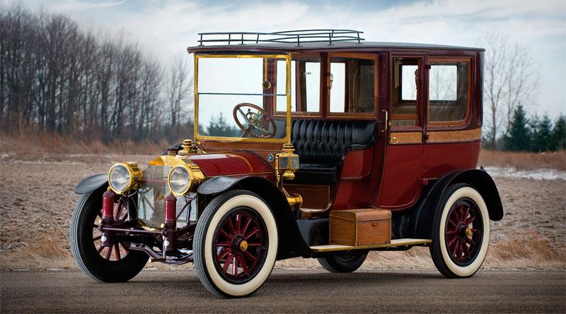 História: Mercedes 22-50PS Town Car