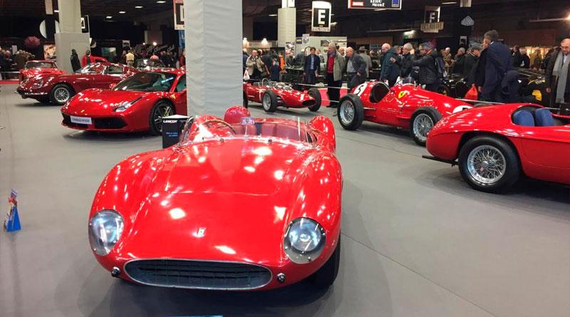 Galeria: Retromobile 2017, o maior salão de carros clássicos da França