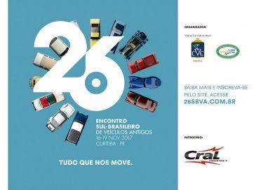 26º Encontro Sul Brasileiro de Veículos Antigos em Curitiba/PR