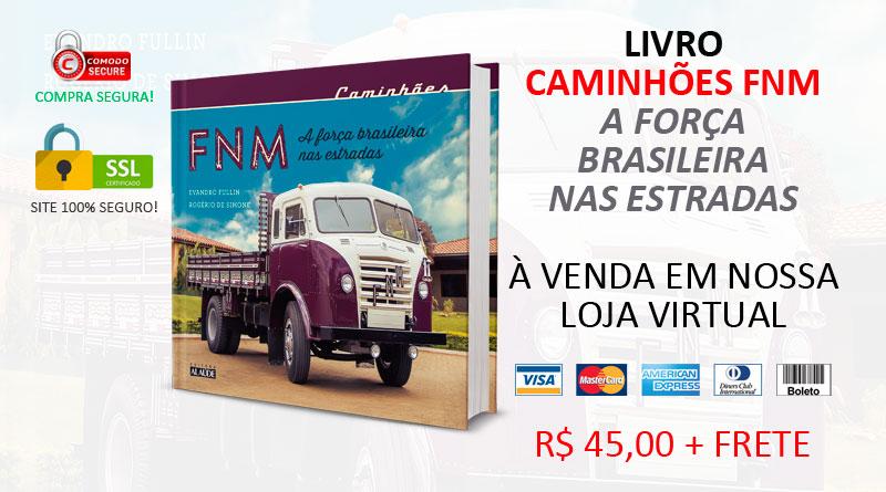 Livro: Caminhões FNM, a força brasileira nas estradas
