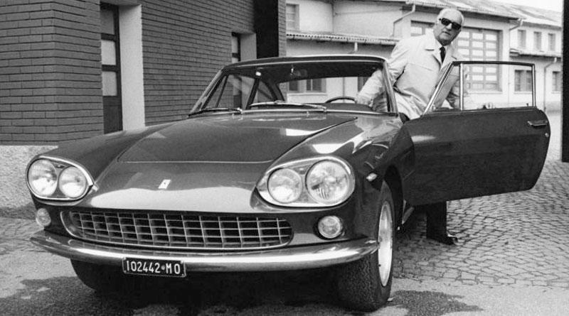 Qual carro Enzo Ferrari dirigia para ir ao trabalho?