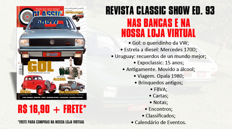 Revistas Classic Show no seu EVENTO!