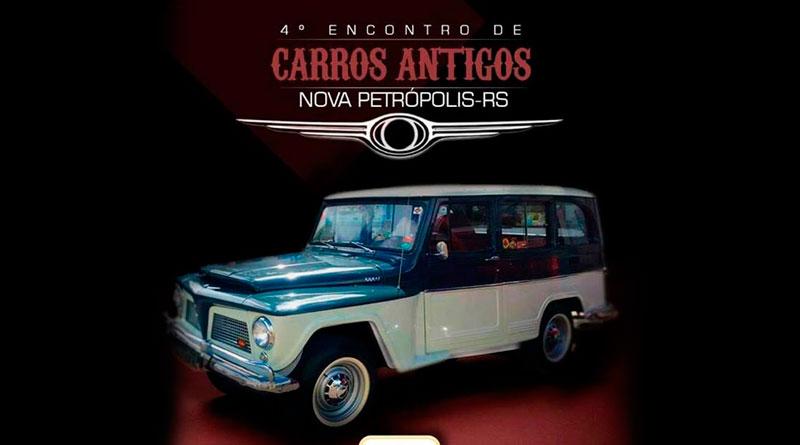 4º Encontro de Carros Antigos de Nova Petrópolis/RS