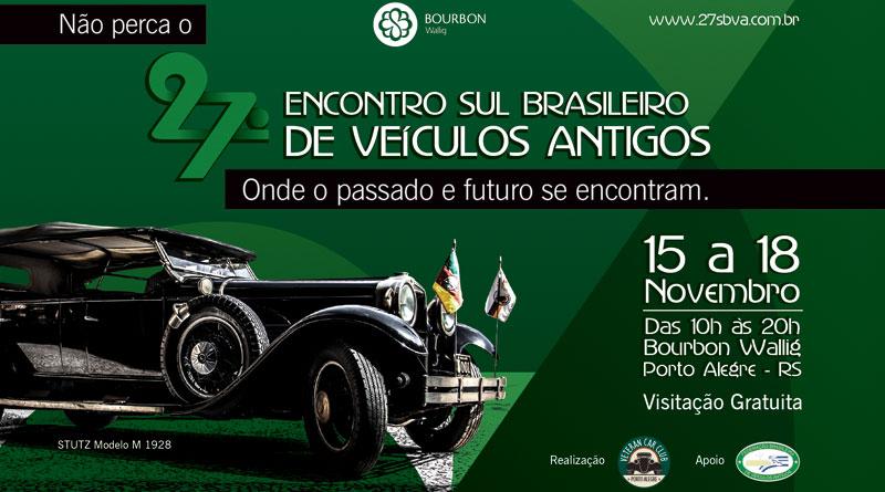 27º Encontro Sul-Brasileiro de Veículos Antigos 2018
