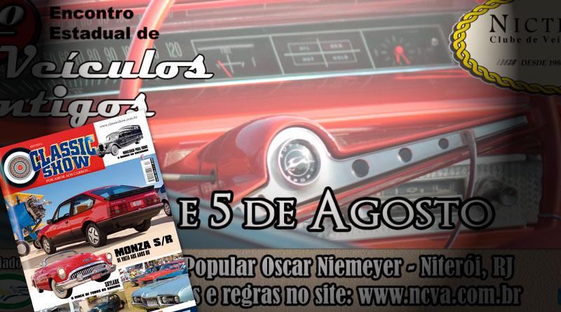 O 6º Encontro de Veículos Antigos de Niterói/RJ está na Revista Classic Show