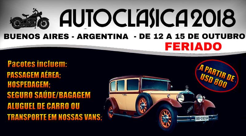 Viaje para a Autoclásica, em Buenos Aires, na Argentina!