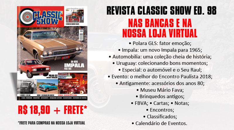Revista Classic Show edição 98