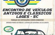 7º Encontro de Veículos Antigos e Clássicos - Lages/SC