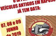 IX Passeio de Veículos Antigos em Raposo/RJ