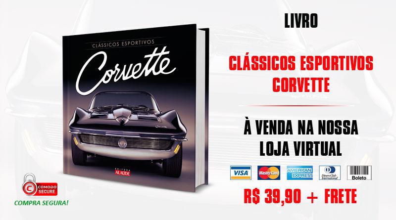 Livro: Clássicos Esportivos - Corvette