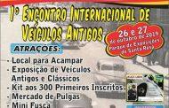 1º Encontro Internacional de Veículos Antigos - Santa Rosa/RS
