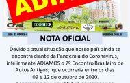 7º Encontro Brasileiro de Autos Antigos - Águas de Lindóia/SP (ADIADO/NOVA DATA)