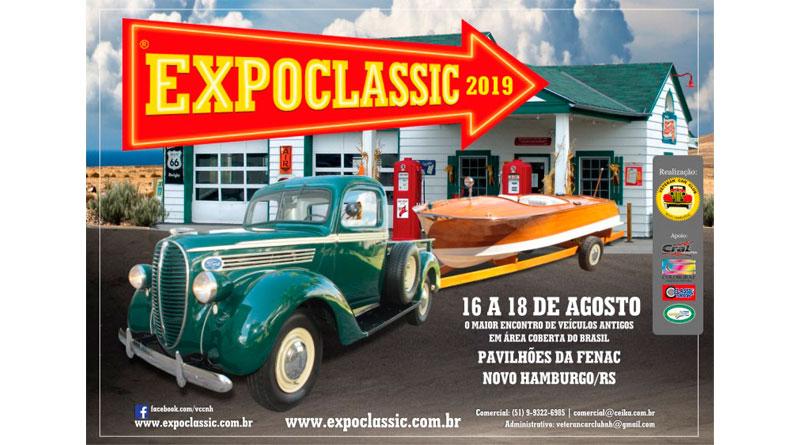 Visite nosso estande na Expoclassic 2019!