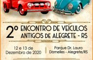 2º Encontro de Veículos Antigos de Alegrete /RS