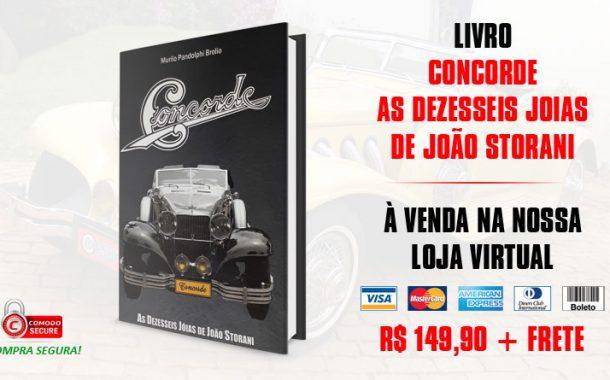 Livro: Concorde. As dezesseis joias de João Storani