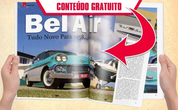 Bel Air. Tudo novo para 1958