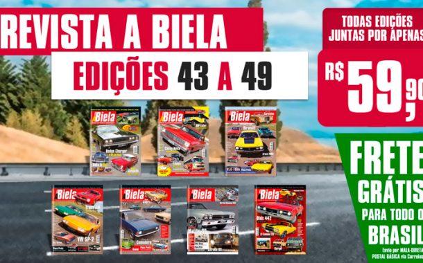 Combo Revista A Biela 43 a 49 com FRETE GRÁTIS