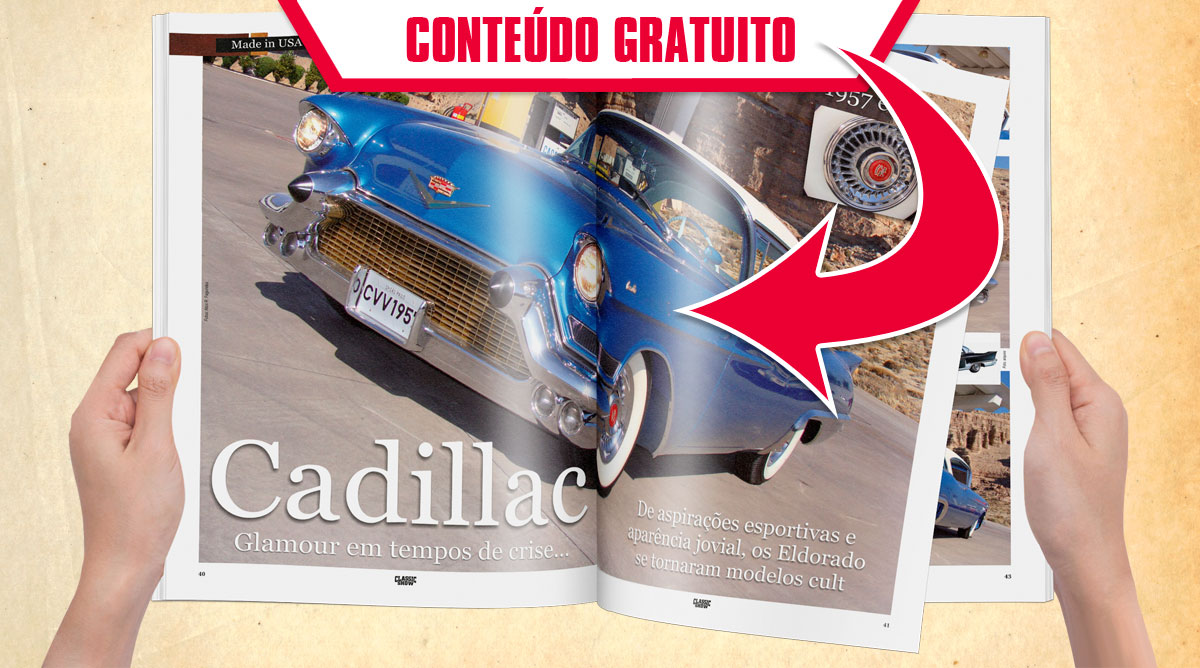 Cadillac. Glamour em tempos de crise