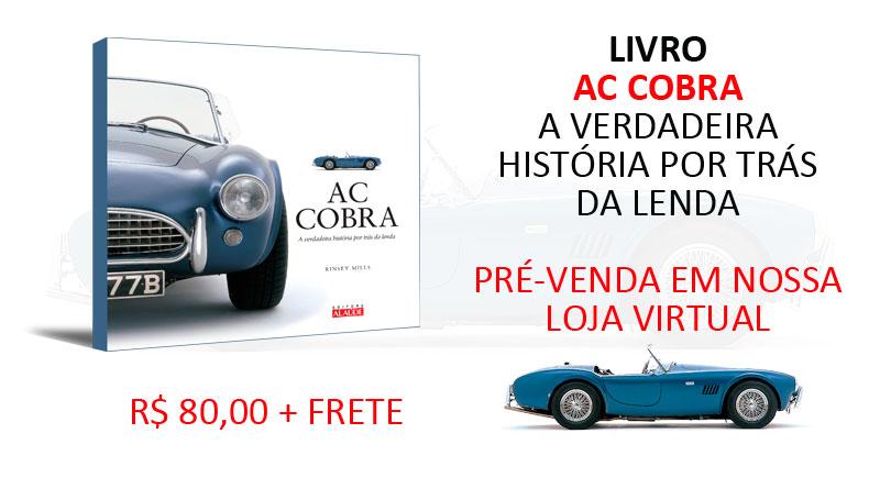 Livro AC Cobra, a verdadeira história da lenda
