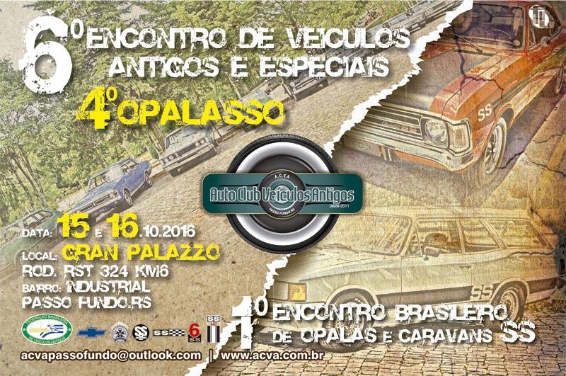 1º Encontro Brasileiro de Opalas e Caravans SS