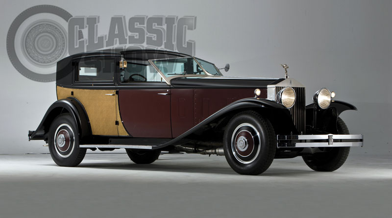 História: Rolls-Royce Phantom II Special Town Car