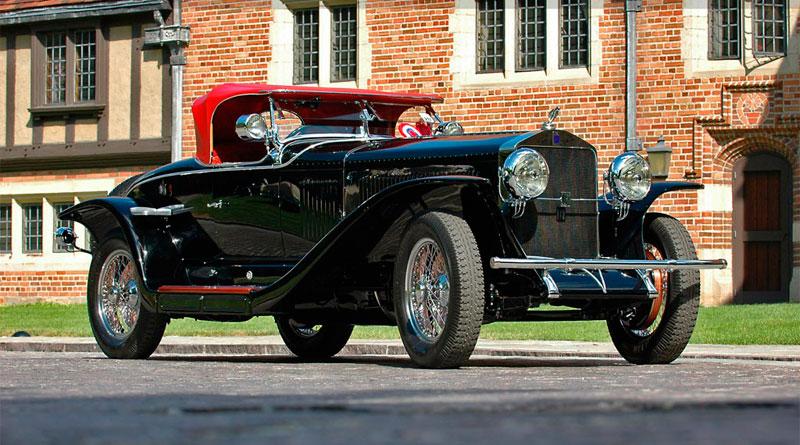 História: Isotta-Fraschini Tipo 8A S Roadster
