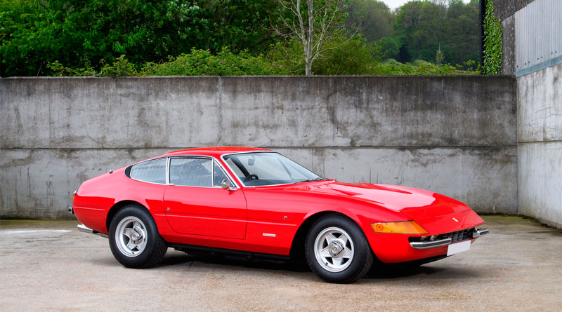 Ferrari Daytona de Elton John vai a leilão em agosto