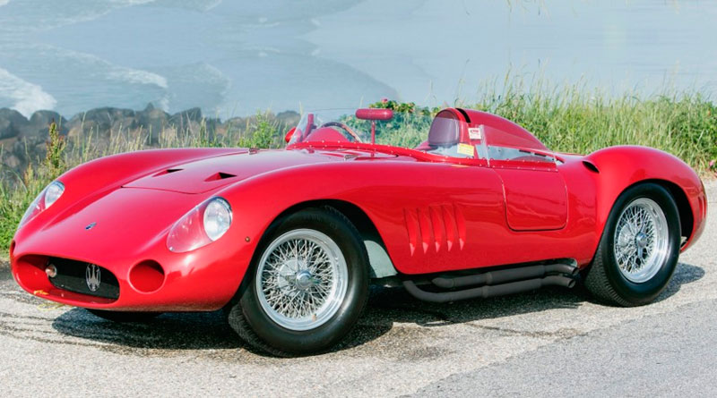 Maserati 300S de Juan Manuel Fangio vai a leilão em Pebble Beach