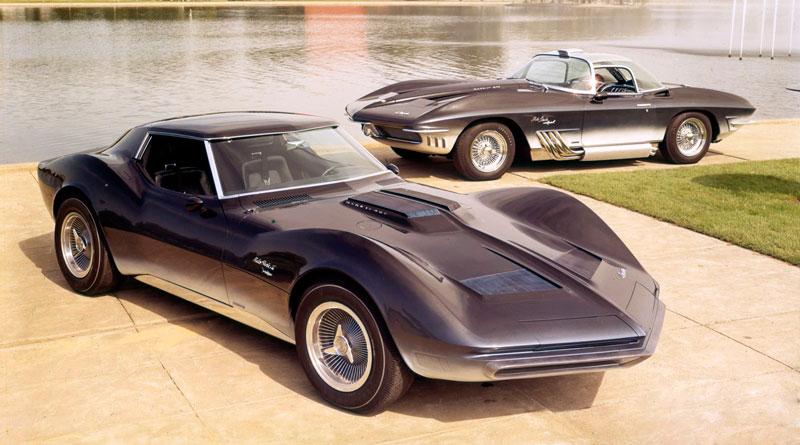 Os incríveis Corvette Mako Shark I e II