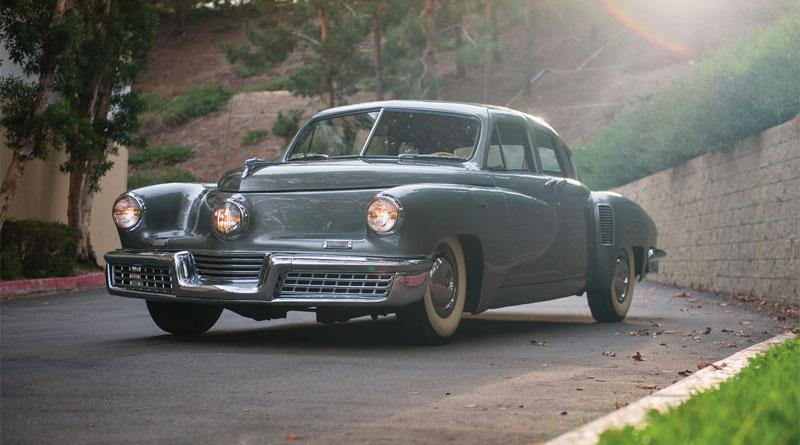 Tucker 1948 chassi 1029 foi a leilão em Scottsdale, nos EUA