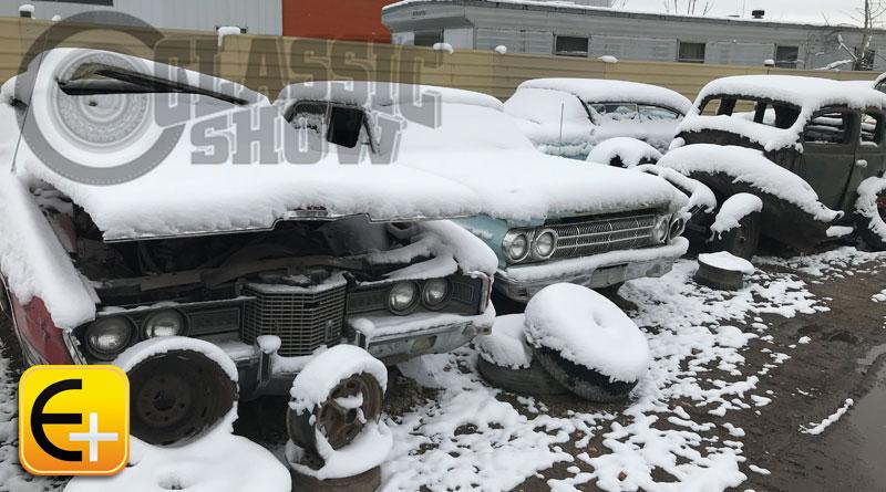 Edição 96: Fotos de um ferro-velho no verão e no inverno
