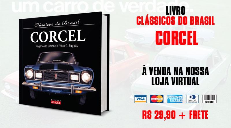 Livro: Clássicos do Brasil - Corcel