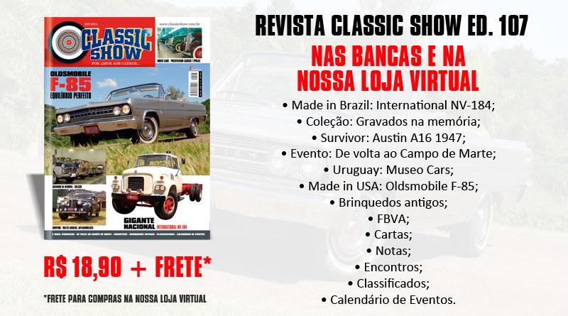 Revista Classic Show edição 107