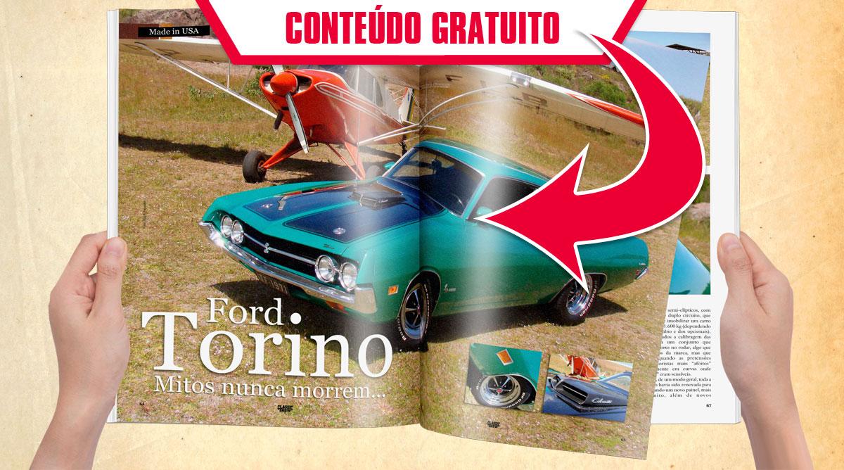 Ford Torino. Mitos nunca morrem