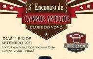3º Encontro de Carros Antigos Clube do Vovô - Coronel Vivida/PR