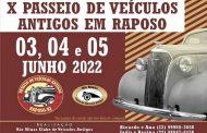 X Passeio de Veículos Antigos - Raposo/RJ