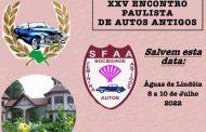 XXV Encontro Paulista de Autos Antigos - Águas de Lindóia/SP